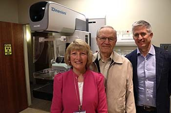 Murdock and MacDonald grants for 3D mammography