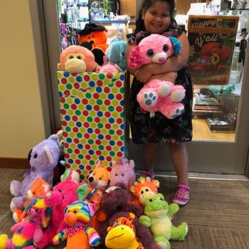 Local girl donates stuffed animals