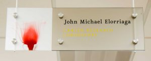 John Michael Eliorriaga laboratory sign